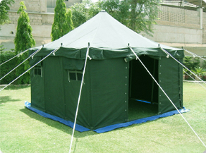CENTER POLE SQUARE TENT & ZAHRA Industries (PVT) LTD.